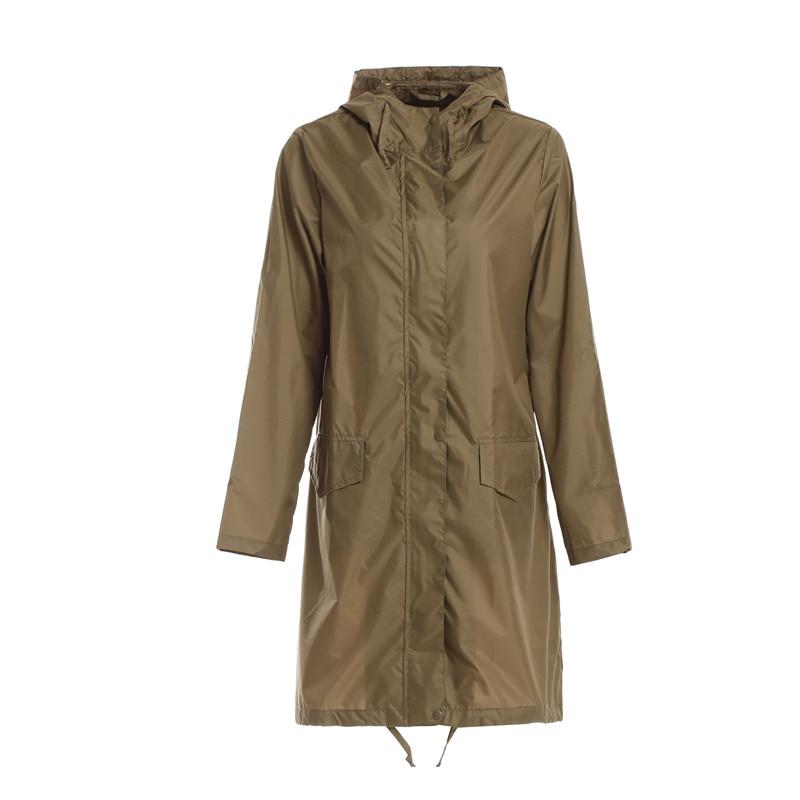 ed3a0b72817c US $28.88 |Long Thin Raincoat Women Waterproof Windproof Hooded Light Rain  Coat Ponchos Jackets cloak Female Chubasqueros Mujer-in Raincoats from Home  ...
