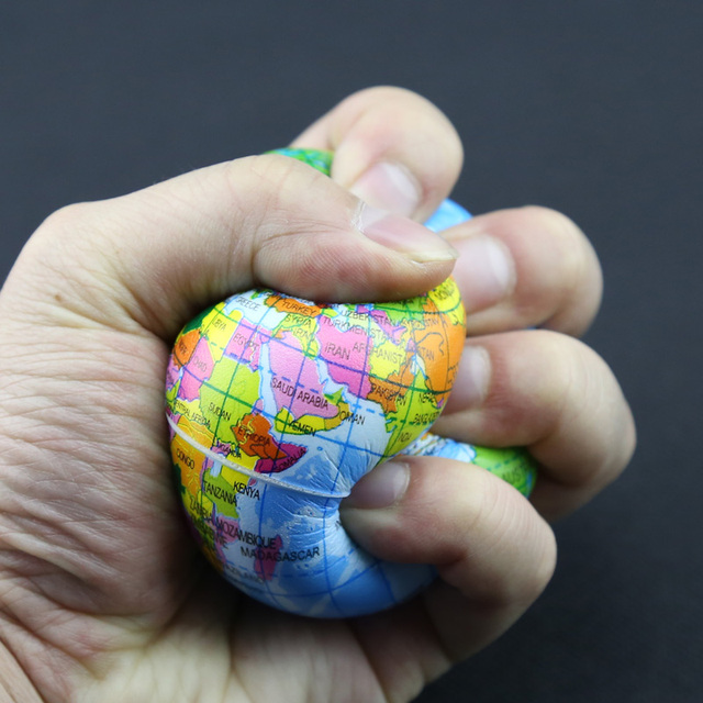 Planet Earth Squeeze Toy