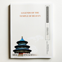 1Pc Intangible Cultural Heritage Series Books English Version Legends and Cultural Relics