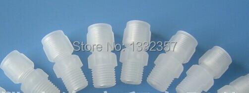 Pcs lots free shipping plastic compression fitting pvdf