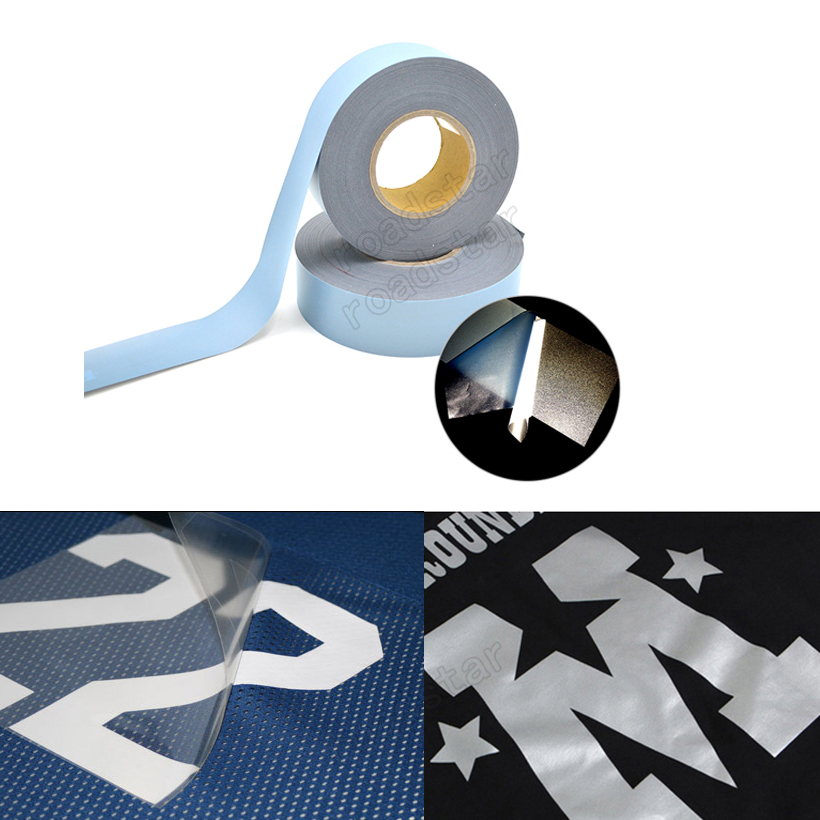 3M Safety Reflective Heat transfer Vinyl Film DIY Silver Iron on Reflective Tape For Clothing3M Safety Reflective Heat transfer Vinyl Film DIY Silver Iron on Reflective Tape For Clothing