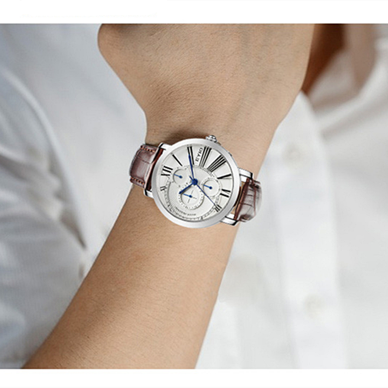 Losida Luxury Brand Män Mode Sport Klockor Wrist Quartz Chronograp 3 - Herrklockor