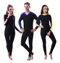 Lycra Dive Skin Full Body Skin Basic Wetsuit Rash Guard for Women and Men One-piece Swim Suit Swimwear UPF 50+