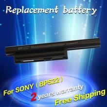 Jigu 5200 mah batterie für sony bps22 vgp-bps22 vgp-bps22a für vaio vpc-e1z1e vpc-ea1 ea16e ea1s ea45fg/b ea1z1e ea27ec