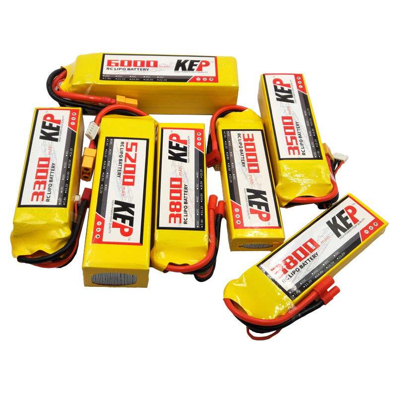 RC Toys <font><b>LiPo</b></font> Battery <font><b>4S</b></font> 14.8V 1100 1300 2200 2600 3300 3800 4200 <font><b>5200mAh</b></font> 25C 35C Batteries <font><b>4S</b></font> For RC Car Drone Airplane Plane image
