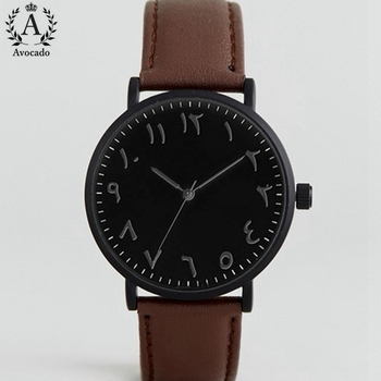 Men's Arabic Quartz Watches Fashion Watch Men Top Brand Luxury Male Clock Business Mens Wrist Watch Hodinky Relogio Masculino 2020 fashion quartz watch men watches luxury male clock business mens wrist watch hodinky relogio masculino dropshipping