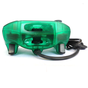 Image 5 - xunbeifang Transparent wired Gamepad Joystick Game Controller for Xbox
