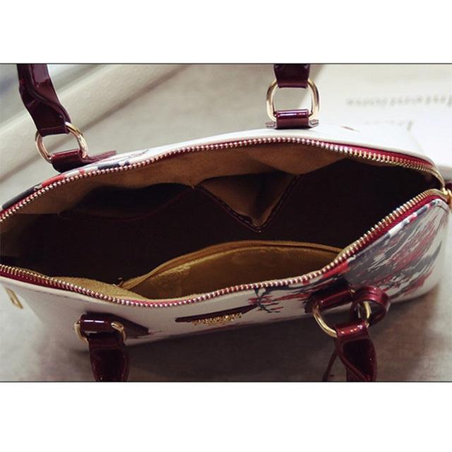 Luxury Famous Brand High Quality Pu Leather Handbags