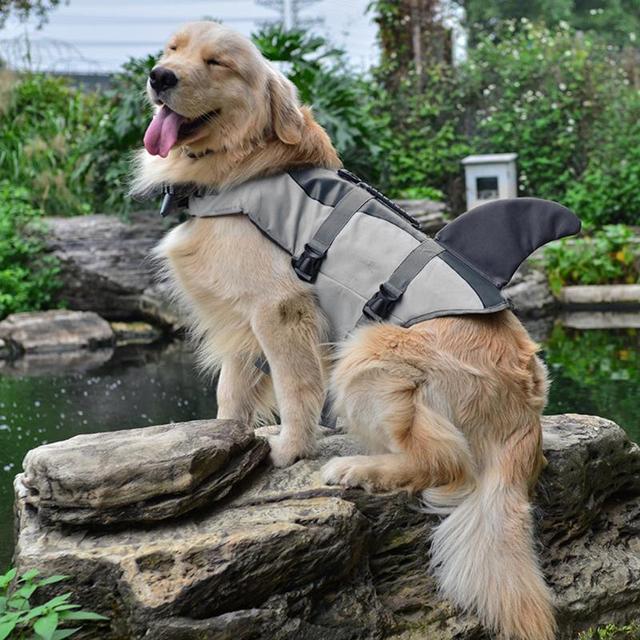 Dog's Shark / Mermaid Swimming Safety Vest 2