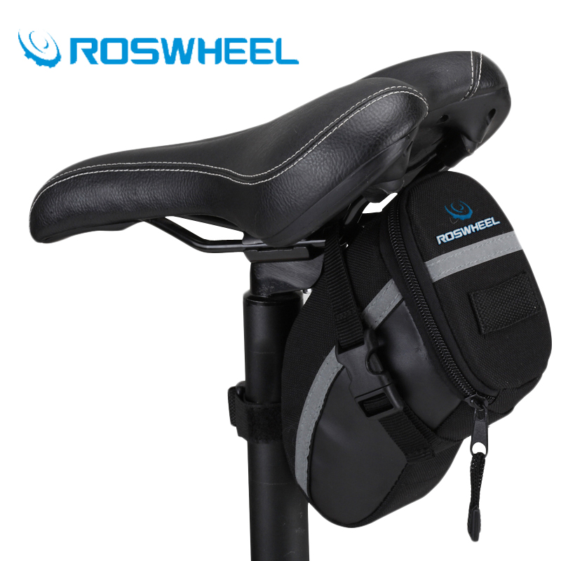 Back Seat Saddle Bag Cycling MTB Road Bike Mountain Bicycle Tail Pouch Accessory