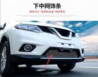 Lane Legend Case For Nissan X Trail 2014 2016 Car Front Bumper Mesh Grille Around Trim