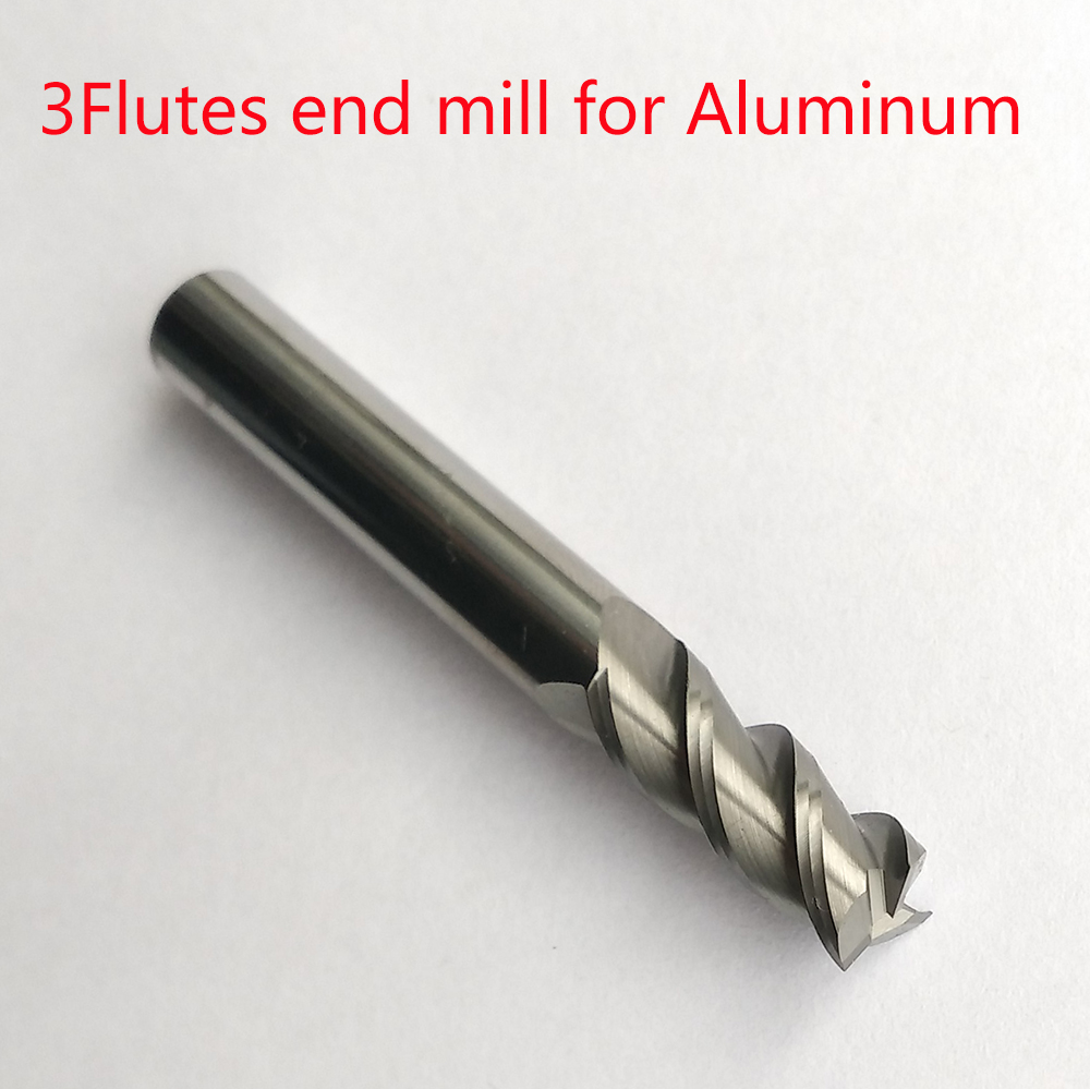 1mm/2mm/3mm/4mm/5mm/6mm/8mm/10mm/12mm 3 flutes HRC45 lengthen carbide flat endmills for aluminum cnc milling cutters router bit emerald color 2mm 3mm 4mm 6mm 8mm 10mm 12mm 5040 aaa top quality loose crystal rondelle glass beads