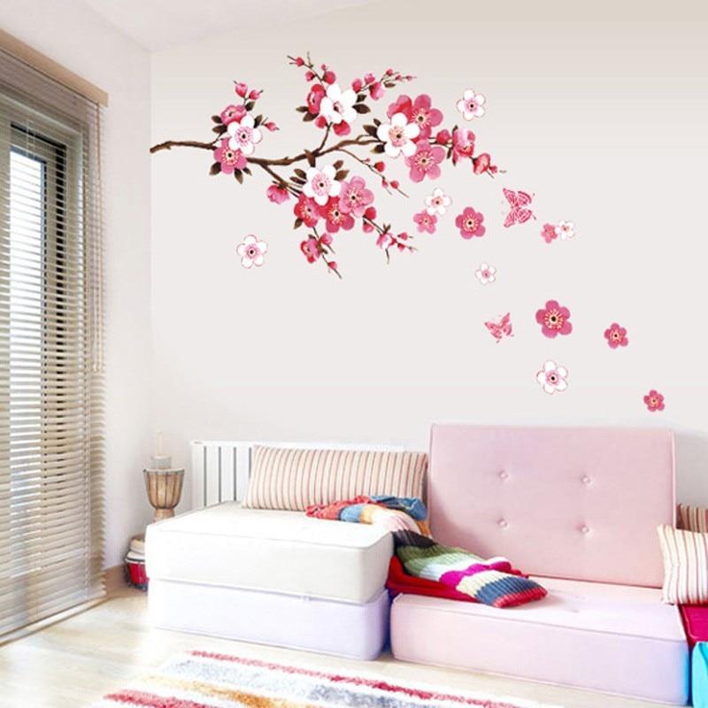χονδρική όμορφη sakura τοίχο - Διακόσμηση σπιτιού - Φωτογραφία 4