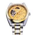 Männer Luxusmarke Mondphase Edelstahl Automatik Wickel Uhr  männer Armbanduhr|watch brand|wristwatch brandwatch watch -