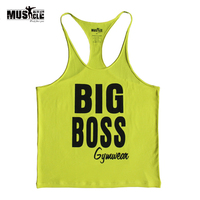 TXAB 2014 Bodybuilding Tank Tops Cotton GYM Vest GYM LOA Fitness Tank Top Muscle Stringer Singlet