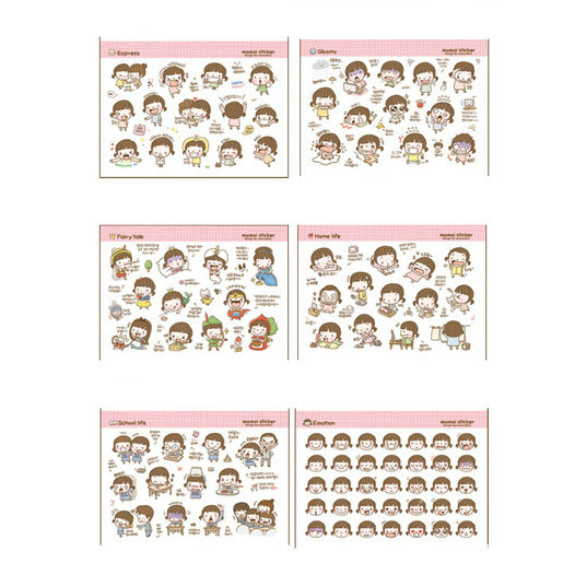 10 Packs=20 Sheets Diy Cute Little Girl Paper Sticker For Scrapbooking Diary Kids Children Stationery Sticker Top Watermelons