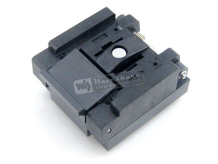 QFN36 MLP36 MLF36 QFN-36B-0.5-01 Enplas QFN 6x6 mm 0.5Pitch IC Test Burn-In Socket qfn20 mlp20 mlf20 qfn 20b 0 5 01 qfn enplas ic test burn in socket programming adapter 4x4mm 0 5pitch free shipping