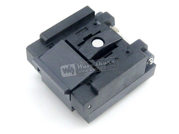 Qfn36 Mlp36 Mlf36 Qfn-36b-0.5-01 Enplas Qfn 6x6 Mm 0.5pitch Test Burn-in Socket 10pcs cm501 qfn