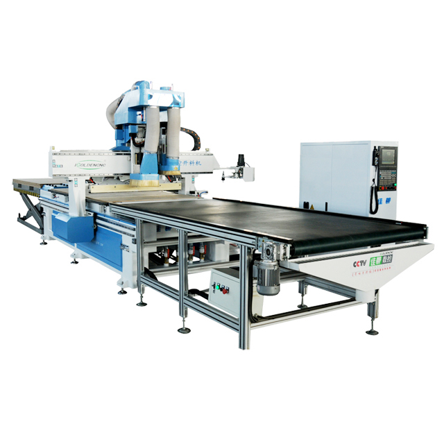 New 2019 Trending Product 1325 CNC Center ATC Wood Cutting Machine Woodworking Tools with Drilling Hole
