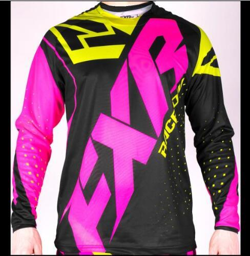 FXR BMX Off-Road Long Sleeve Moto GP Racing Jersey 1