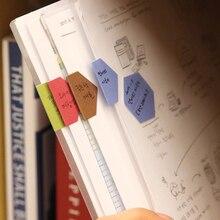 240 шт./лот, креативные цветные бумажные индексные наклейки, классификация, памятка, тег, дневник, наклейка, этикетка, индексный разделитель
