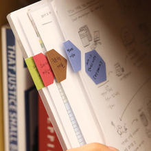 240pcs/lot Creative colorful paper index stickers classification memo tag diary sticker label binder divider