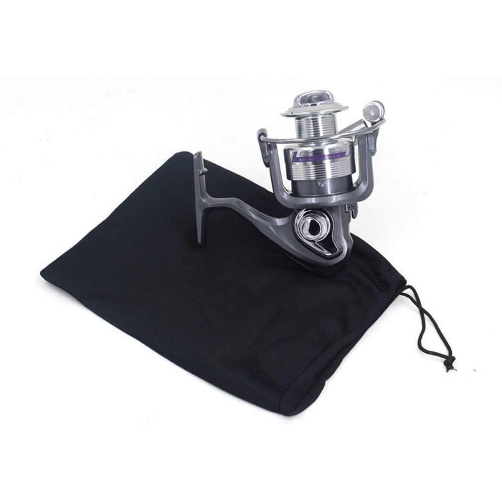 Beautiful Fishing Reel Bag With Drawstring Fishing Reel Protector Bag Pouch Fishing Tackle Fishing Gear Accessories Wheel Bag Dropshipping To Win A High Admiration