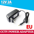 1Pcs AC 100-240V to DC 12V 2A Converter Adapter Switching Power Supply Charger For LED Strips Light EU Plug Brand New