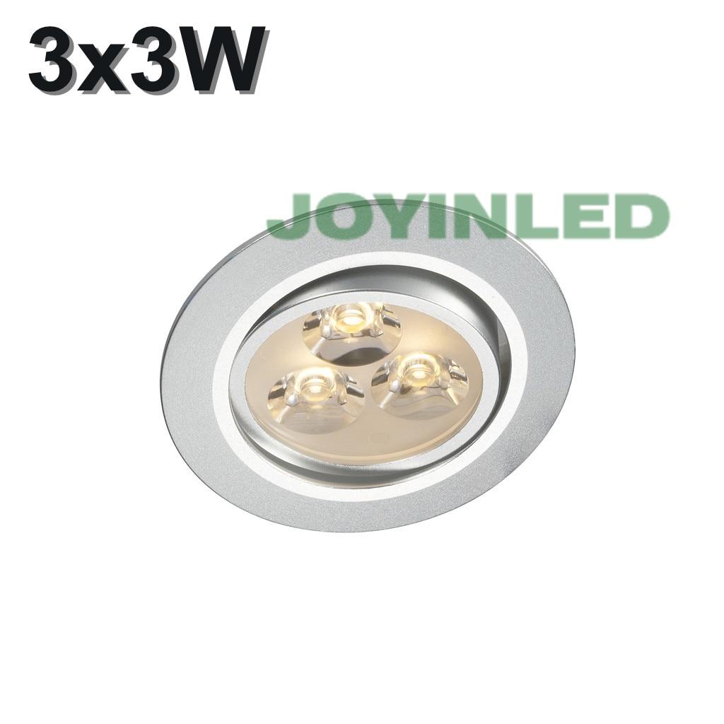 AC85-265V 9W (3 * 3W) Кръгла светеща светлина с - Вътрешно осветление - Снимка 4