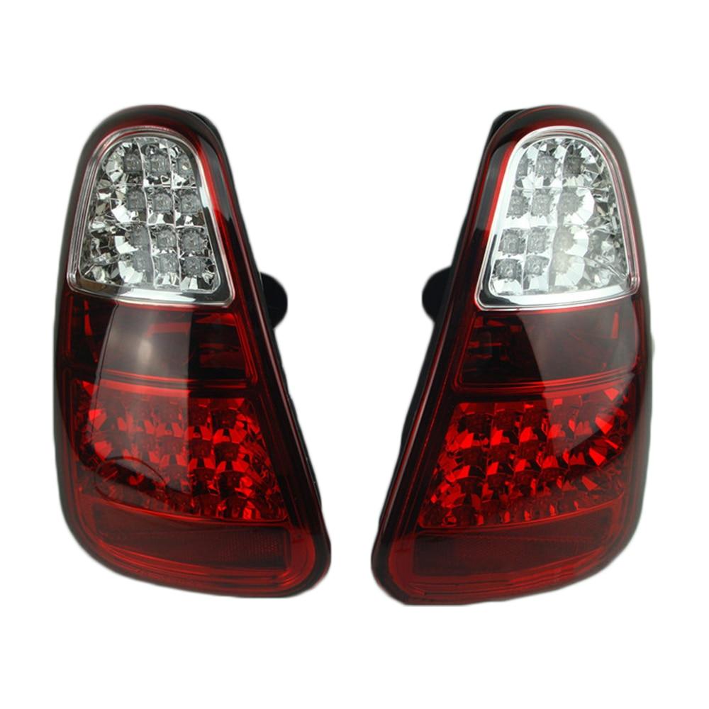 все цены на 2pcs/set Car LED Rear Light Taillight Brake Lamp Led Tail Light Assembly For MINI Cooper One R50 R52 R55 R56 R61 Car Accessories онлайн