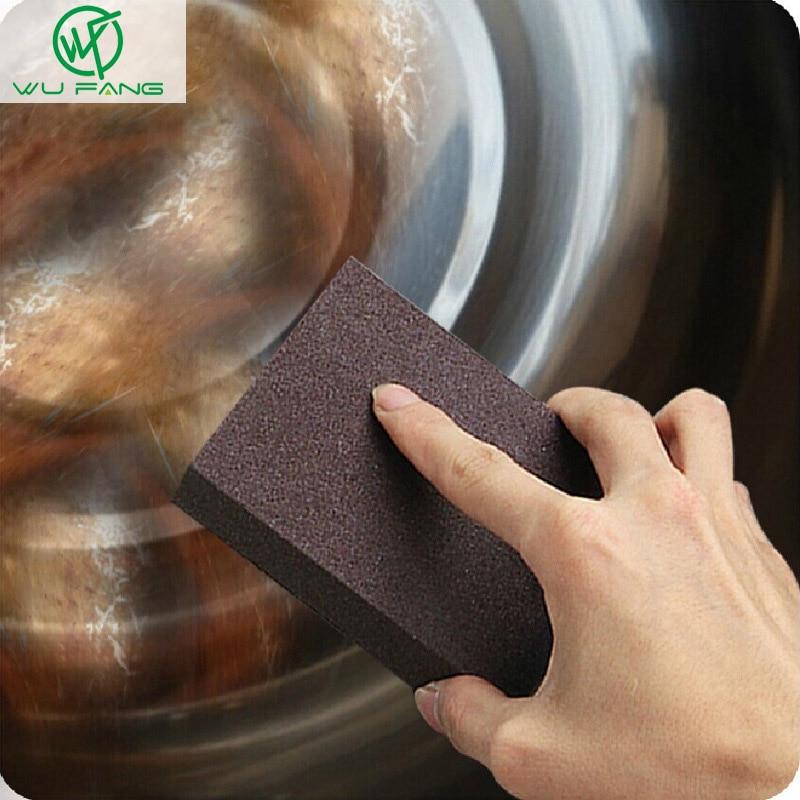 35fc155861d Esmeril de Cozinha esponja Nano Magia Limpo Esfregue o pote Exceto ferrugem  manchas Focal Esponja