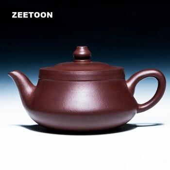 240cc Authentic Yixing Teapot Handmade Chinese Health Care Purple Clay Kung Fu Tea Set Zisha Teapot Coffee Tieguanyin tea Qu Pot