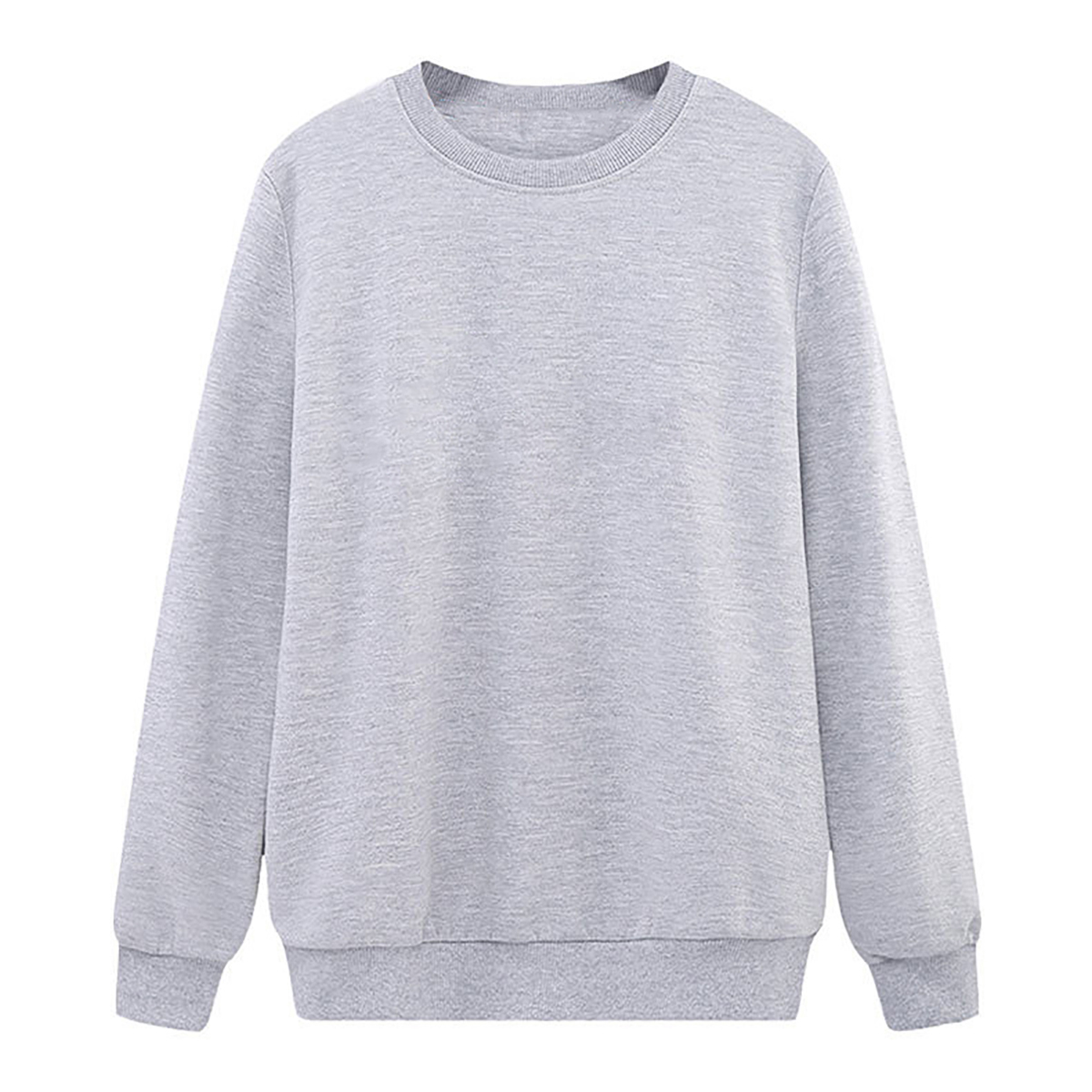 Solid Color Sweatshirt Women Casual Hoodie Fashion Winter Autumn Ladies Pullover Fleece Black White Blue Red Gray Streetwear