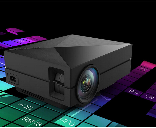 GM60 MINI Portable LED Projector For Video Games TV Home Theater Movie Support HDMI VGA AV SD GM60 Resolution800*480