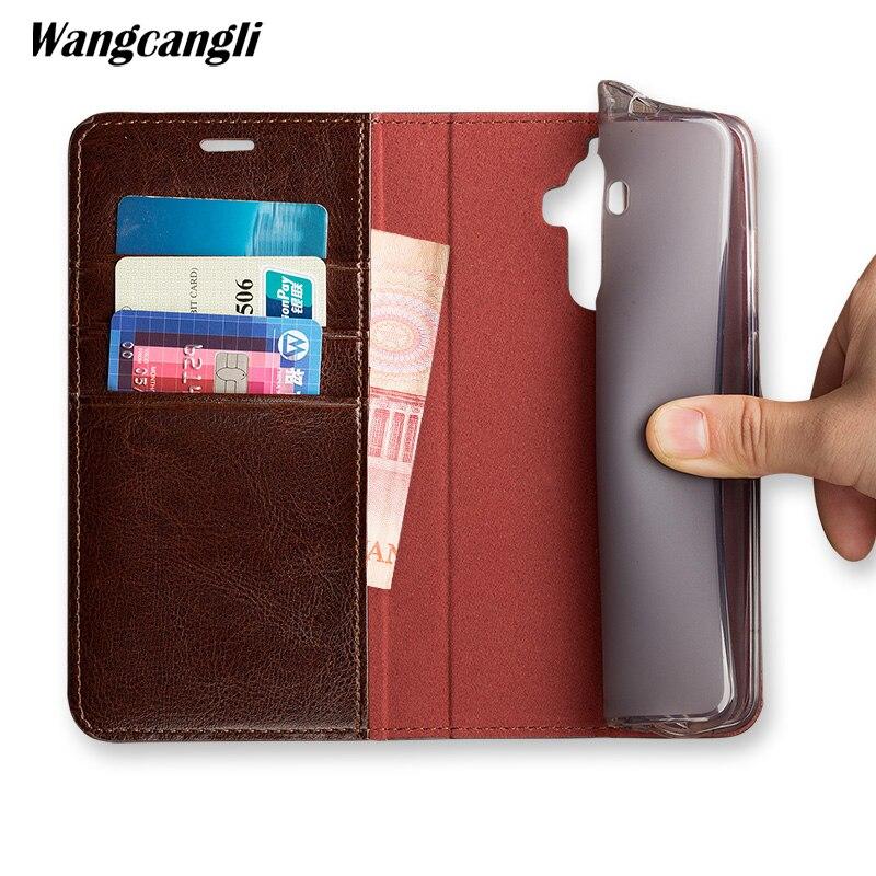 Cas de téléphone pour Pour Samsung Note 8 s7 s8 s9 plus bord c8 Marque Véritable cas de téléphone En Cuir pour iPhone 7 main personnalisé flip