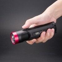 NITECORE EC4GT (красный) Ограниченная серия Handy Портативный 1000 люмен излучатель фонарик свет лампы для Охота Кемпинг Рыбалка