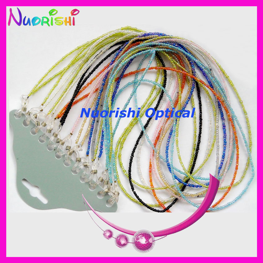 free shipping L801 beaded sunglasses chain neck cord string retainer strap lanyard holder eyeglass glasses retainer