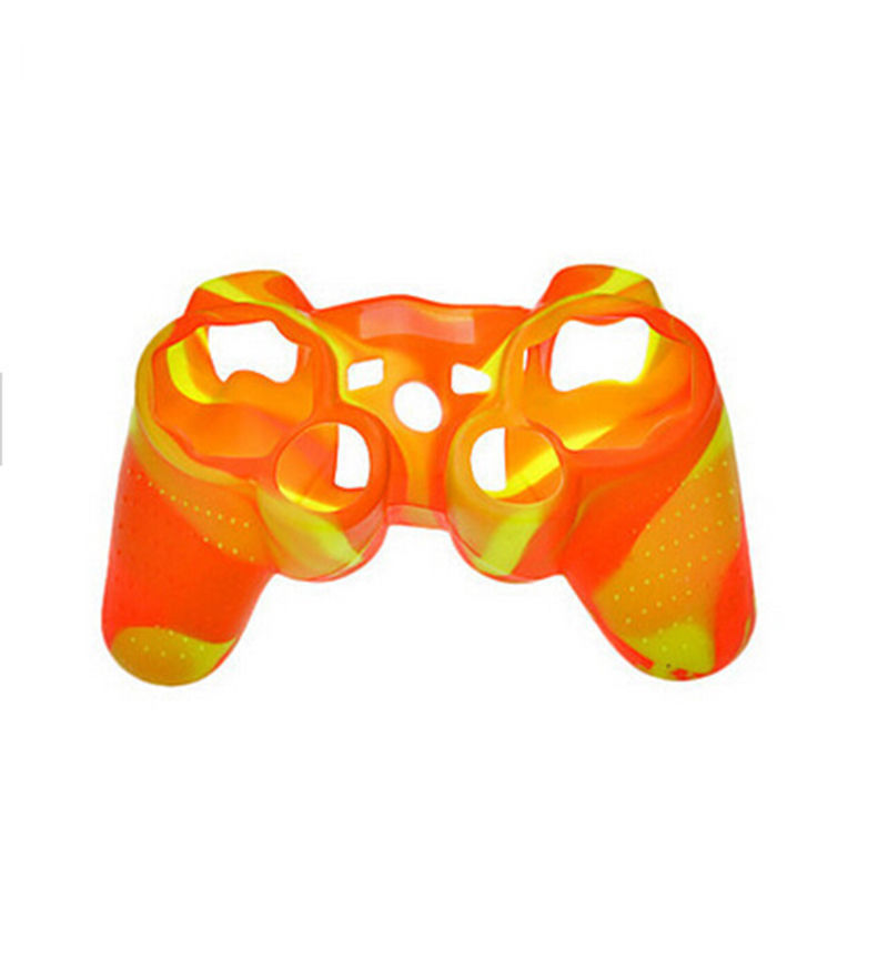 Delicate Camouflage Silicone Skin Case Cover for ps2 for Playstation 3 Controller