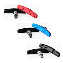1 Pair Mountain Bike Road Bicycle Cycling Bike Braking V-Brake  Pads Blocks Holder Rubber Pads Durable Shoes Bicycle Parts