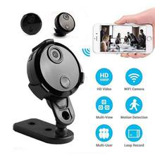 цена на Mini HD Camcorders Round 1080P Night Vision WiFi Remote Control AVI Video-Recorder  DV Camera