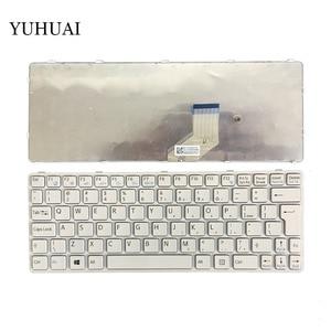 Новая клавиатура для ноутбука SONY Vaio SVE1112M1EB SVE1112M1EP SVE1112M1EW SVE1112M1RB SVE1112M1RP SVE1112M1RW белый (с рамкой)