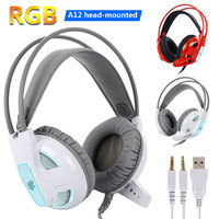 Gaming Headset Headset Headphone Stereo Computer Fashion Noise Reduction Cool RGB
