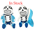 "New Hot Sale 30cm/12"" 1pcs Blue Undertale Toys Sans Papyrus Asriel Toriel Stuffed Doll Plush Toys For Kids Christmas Gifts"
