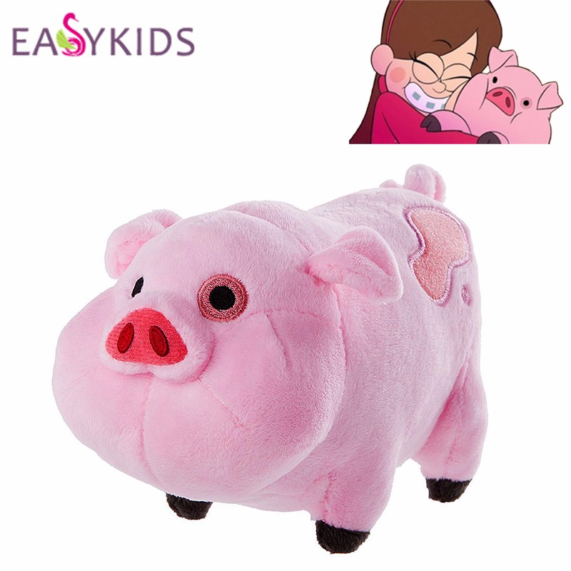 Cartoon-TV-Movie-Gravity-Falls-Plush-Toy-Dipper-Mabel-Pink-Pig-Waddles-Stuffed-Soft-Dolls-Kids
