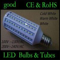 DHL delivery High Power 50W LED Lamp 5730 SMD E40 165 LEDs Corn Bulb Pendant Lighting 110V/220V Chandelier Ceiling Light 60pcs