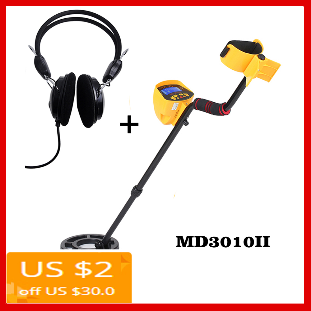 MD3010II Underground Metal Detector Searching Treasure sensitive Gold Digger Treasure Hunter Metal Finder Seeking Tool MD
