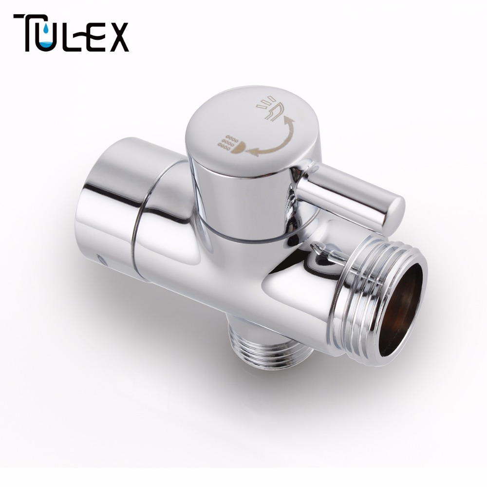 Faucet Shower Diverter 3 Way Shower Arm Diverter 2 Functions Shower ...