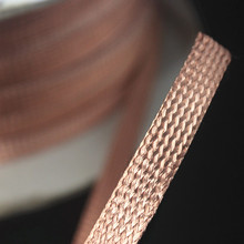 Dense type Pure copper Shielding net Tin plated copper Shield tape 3mm-30mm different models 1meter/Lot