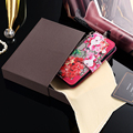 brand logo cover Classic retro purse phone Leather Case for iphone 6 6S 7 Plus galaxy S6 S7 edge note 5 7 flip phone bags cases