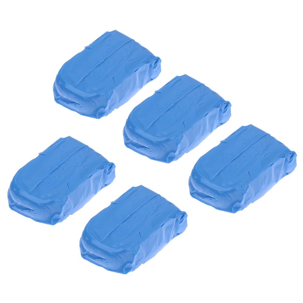 5Pcs Lot Car Auto Magic Clean Clay Bar Auto Truck Blue Cleaning Clay Bar Car Detailing
